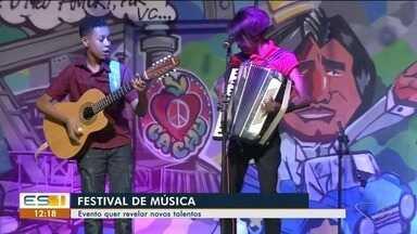 Festival de música é oportunidade para revelar novos talentos do Sul do ES - É a primeira edição do festival em Cachoeiro de Itapemirim.