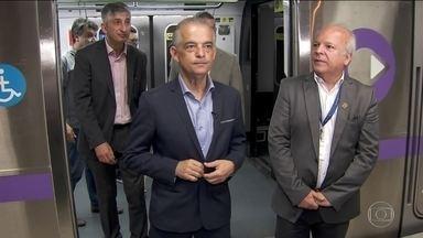Márcio França visita obras na capital - O candidato do PSB foi ao metrô e conjunto habitacional.