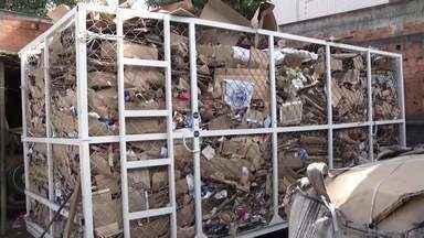 Projeto em Ipatinga quer destinar corretamente o lixo produzido na cidade - Ação será para incentivar a coleta seletiva dos moradores.