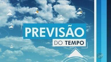 Confira a previsão do tempo para as cidades da região nesta sexta-feira - Com previsão de chuva, Campinas registra máxima de 25ºC.