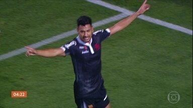 Vasco e Santos empatam em 1 a 1 - Partida aconteceu no Pacaembu, em São Paulo. Confira os gols.