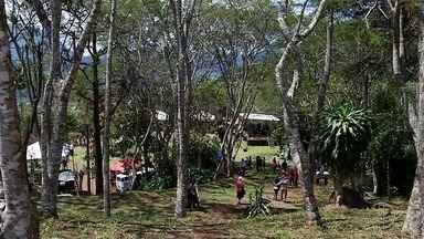Mirante da Colina, ponto turístico de Teresópolis, RJ, é reinaugurado - Assista a seguir.
