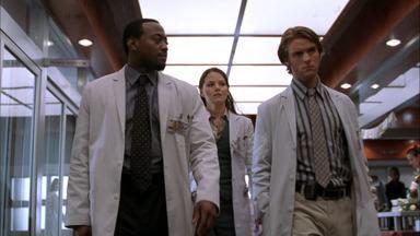 Criticado de uma forma ou de outra - Dr. House e sua equipe se deparam com uma freira que tem feridas nas mãos, eles precisam saber se é uma alergia comum ou se são estigmas.