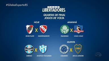 Veja Os Jogos Da Semana Pelas Quartas De Final Da Copa Libertadores