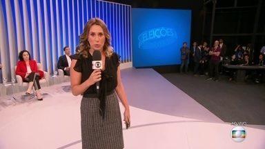 Sete candidatos ao governo do RJ participam do debate da TV Globo - Sete candidatos ao governo do RJ participam do debate da TV Globo.