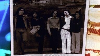 #TBT do Encontro com Guilherme Arantes - Cantor relembra foto ao lado da primeira banda