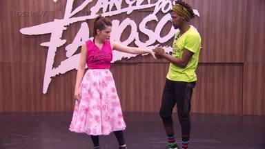 Confira o ensaio de Bia Arantes para o rock do 'Dança dos Famosos' - Assista!