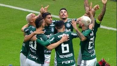 Palmeiras tem aproveitamento de time campeão - Palmeiras tem aproveitamento de time campeão