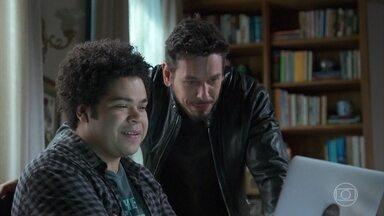 Bola convence Mauro César a participar do filme de Alain - Alain fica impressionado e feliz com o elenco que está se formando