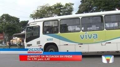 Aumento da passagem em Pindamonhangaba - O valor vai subir para R$4,40