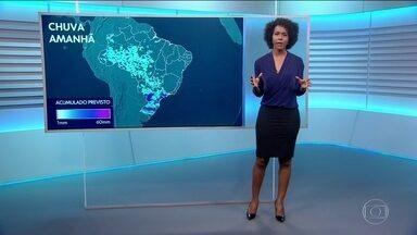Saiba a previsão do tempo para a quarta-feira (10) - Deve chover na maior parte do Brasil. Em algumas cidades, as pancadas de chuva podem ser fortes.