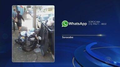 Veja as reclamações enviadas para o WhatsApp da TV TEM nesta quarta-feira - Veja as reclamações enviadas pelos telespectadores para o WhatsApp da TV TEM nesta quarta-feira (10).