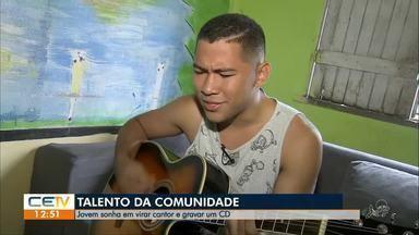 Confira o quadro 'Talento da Comunidade' desta quarta-feira (10) - Saiba mais em g1.com.br/ce