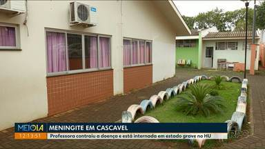 Professora é internada em estado grave com meningite - Ela está internada em estado grave no HU de Cascavel.