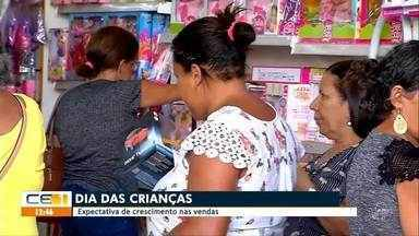 Comércio espera aumento das vendas no Dia das Crianças - Saiba mais em g1.com.br/ce