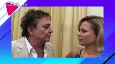 Fábio Jr. confessa que não se considera um bom pai - Cantor conversa com Mônica Salgado e diz que sempre orientou seus filhos a assumirem suas escolhas
