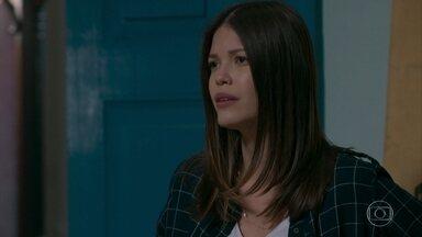 Cris repreende Alain pelo jeito como ele tratou Priscila - Ela diz que não entende como ele pode ser tão rude com uma criança