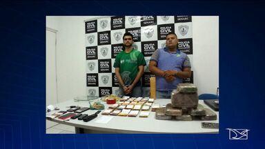 Homens são presos por tráfico de drogas em loja de celular em São Luís - A loja ficava em uma das avenidas mais movimentadas da cidade.