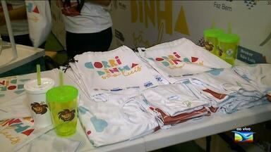 Começa entrega de kits para a 'Corridinha São Luís' - Evento é promovido pelo Grupo Mirante. Ao vivo, a repórter Ádria Rodrigues deu mais informações.