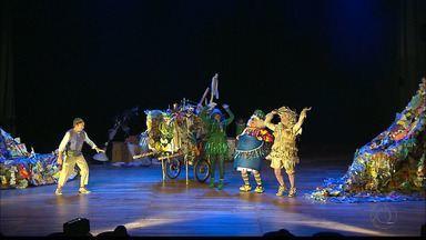 """JPB2JP: Espetáculo infantil chama atenção para a necessidade de reciclar o lixo - """"O Rei do Lixo""""."""