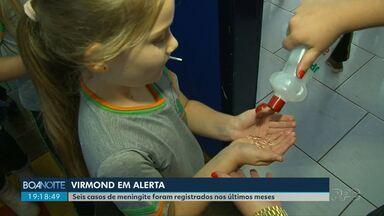 Virmond redobra os cuidados para evitar o surto por Meningite - Nos últimos quatro meses, seis casos foram registrados na cidade.