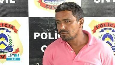 Professor acusado de estuprar aluna é preso em Goiatins - Professor acusado de estuprar aluna é preso em Goiatins