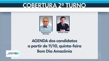 Rede Amazônica define regras de debate e cobertura do 2º turno das eleições - Amazonino Mendes e Wilson Lima concorrem ao governo do Amazonas.