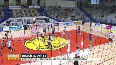 Brasília Vôlei vai participar do campeonato mineiro em Novembro - Equipe foi convidada para disputar competição estadual, que vai servir como preparação para a Superliga feminina.