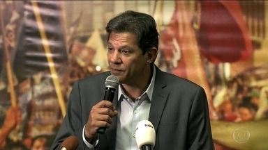 Candidato do PT, Fernando Haddad passa a quarta (10) em São Paulo - Candidato do PT, Fernando Haddad passou a quarta-feira (10) em São Paulo em reuniões e propôs um pacto contra violência na campanha eleitoral.