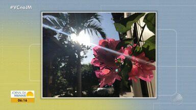 Confira a previsão do tempo desta quinta-feira (11); veja também as fotos do amanhecer - Saiba como fica o tempo no estado.