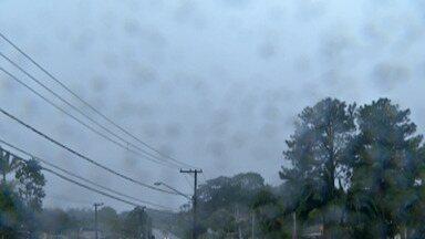 Quinta-feira pode ter chuva no Alto Tietê - Frente fria que avança causa instabilidade na região.