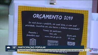 População de Curitiba pode ajudar a escolher as prioridades dos gastos do município - Começa nesta quinta-feira (11) uma consulta pública.