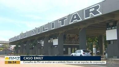 PM acusado de matar namorada pode ser expulso da corporação antes de ser julgado - Preso, soldado Kassio Mangas confessou ter matado a cabo Emily Monteiro. Crime ocorreu no dia 12 de agosto
