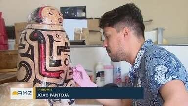 Pesquisador faz catalogação de peças históricas do Amapá - Pesquisador fez parte da equipe do Museu Nacional.