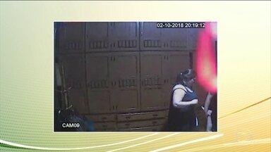 Mãe é assassinada pela própria filha em Petrópolis, no Rio - Imagens de câmera de segurança ajudaram a solucionar o crime.