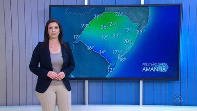 Tempo: previsão para esta sexta-feira (12) é de predominância de chuva - Assista ao vídeo.