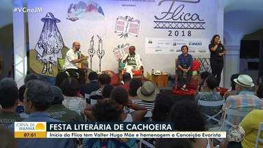 Escritor português é um dos destaques no primeiro dia de Flica em Cachoeira - Essa é a oitava edição do evento, com programação para crianças e adultos.