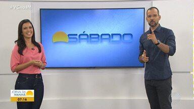 Bom dia Sábado traz reportagem sobre os carregadores de celular - Veja os destaques do programa desse sábado (13).