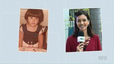 Repórteres e apresentadores da RPC quando criança - Eles entraram na brincadeira do dia da criança