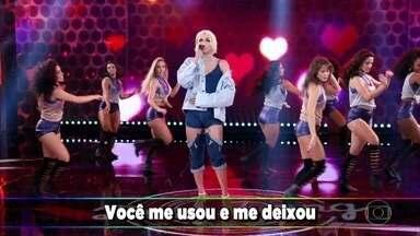 Pabllo Vittar canta 'Disk Me' - Cantora se apresentou no quadro 'Ding Dong'