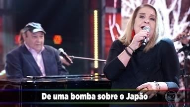 """João Donato e Wanda Sá cantam sucesso """"A Paz"""" - Músicos foram ovacionados pela galera"""