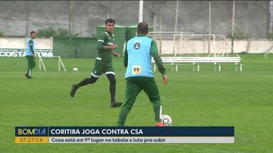 Coritiba recebe o CSA no Couto Pereira - O Coritiba luta pra subir na classificação.