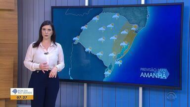 Tempo: quarta-feira (17) deve ser de chuva no RS - Veja como fica a previsão.