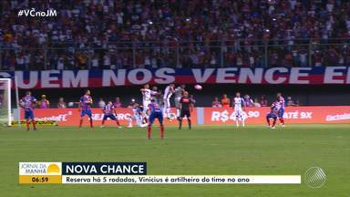 Bahia: Vinicius é o artilheiro em 2018; jogador está no banco de reservas há 5 rodadas - Veja os destaques do tricolor baiano.