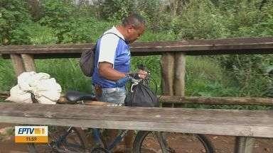 Moradores reclamam de abandono em ponte no Cidade Aracy em São Carlos - Local está em péssimas condições e com falta de iluminação.