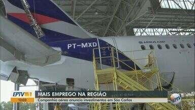 Latam anuncia investimento milionário em unidade de São Carlos - Previsão é de geração de emprego na região.