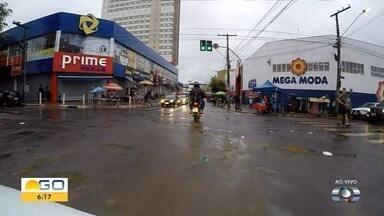 Flashlink percorre ruas da região central de Goiânia - Imagens mostram avenida Contorno, na região da Rua 44.