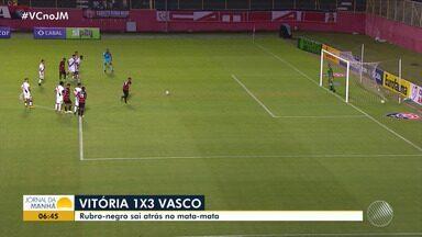 Vasco vence o Vitória por 3 x 1 no Brasileirão sub-17 - Partida aconteceu na noite de quinta-feira (18).