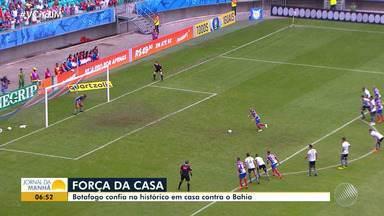 Bahia enfrenta o Botafogo nesse sábado (20) pelo Brasileirão - Veja os destaques do tricolor baiano.