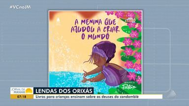 Série de livros infantis conta as histórias dos orixás - Confira os detalhes da obra de Maurício Pestana.